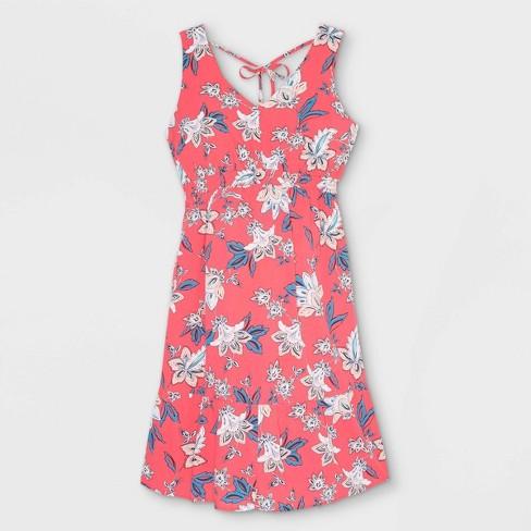 Sleeveless Double Weave Tie Back Maternity Dress - Isabel Maternity by Ingrid & Isabel™ - image 1 of 2