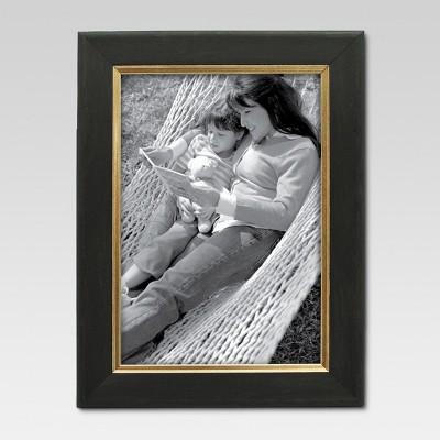 5 x7  Black/Gold Frame - Threshold™