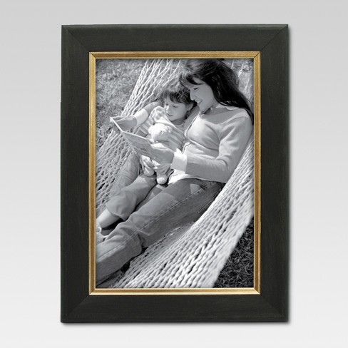 "5""x7"" Black/Gold Frame - Threshold™ - image 1 of 4"