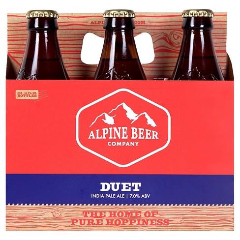Alpine Duet IPA Beer - 6pk/12 fl oz Bottles - image 1 of 2