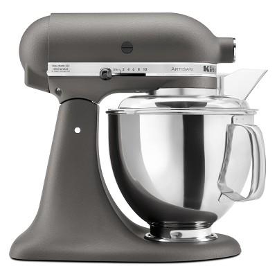 KitchenAid Refurbished Artisan Series 5qt Stand Mixer - Gray RRK150GR