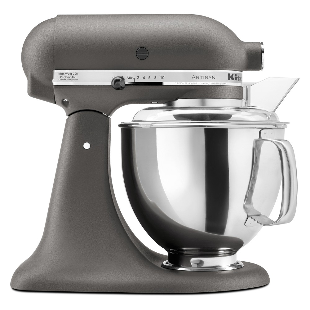 KitchenAid Refurbished Artisan Series 5qt Stand Mixer – Gray RRK150GR 53499030