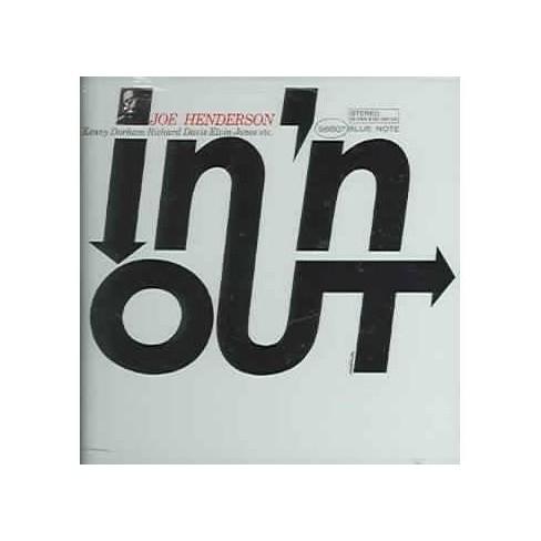 Joe Henderson - In 'n Out (Bonus Track) (Remaster) (CD) - image 1 of 1