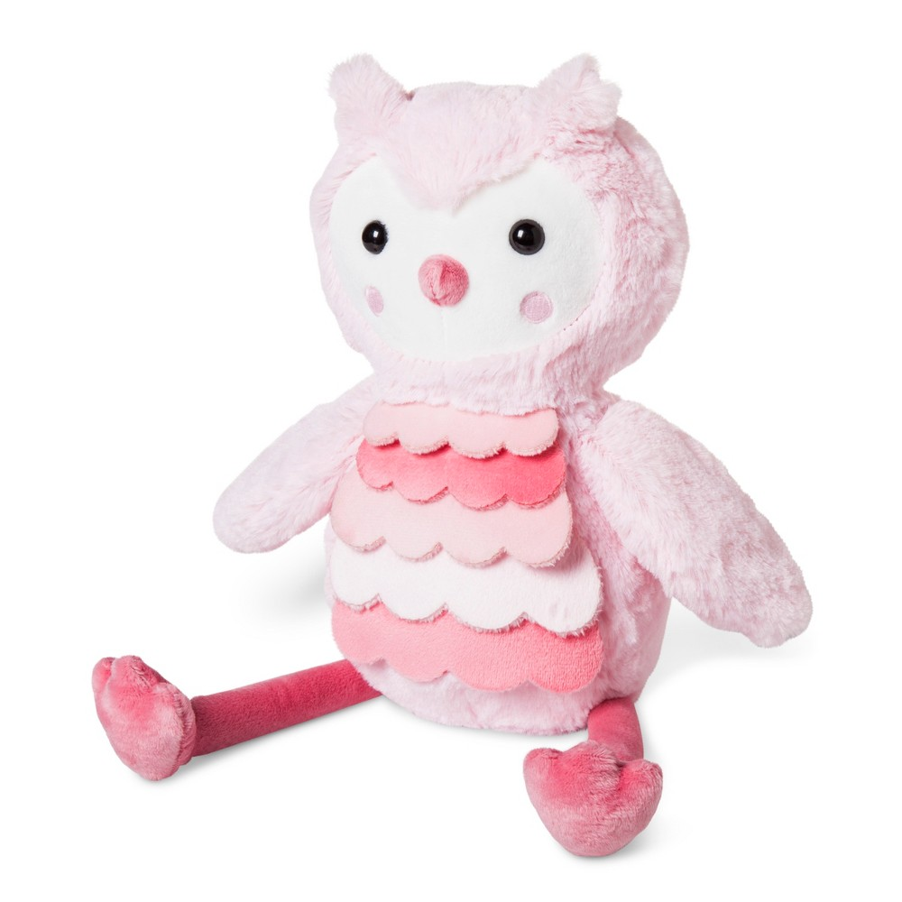 Plush Owl - Cloud Island Pink