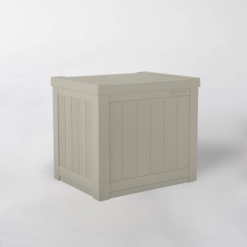 22gal Resin Deck Box Tan - Suncast - image 1 of 4