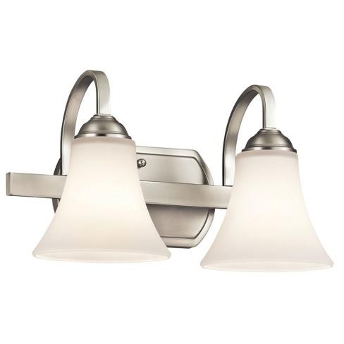 "Kichler 45512 Keiran 14"" Wide 2-Bulb Bathroom Fixture - image 1 of 1"