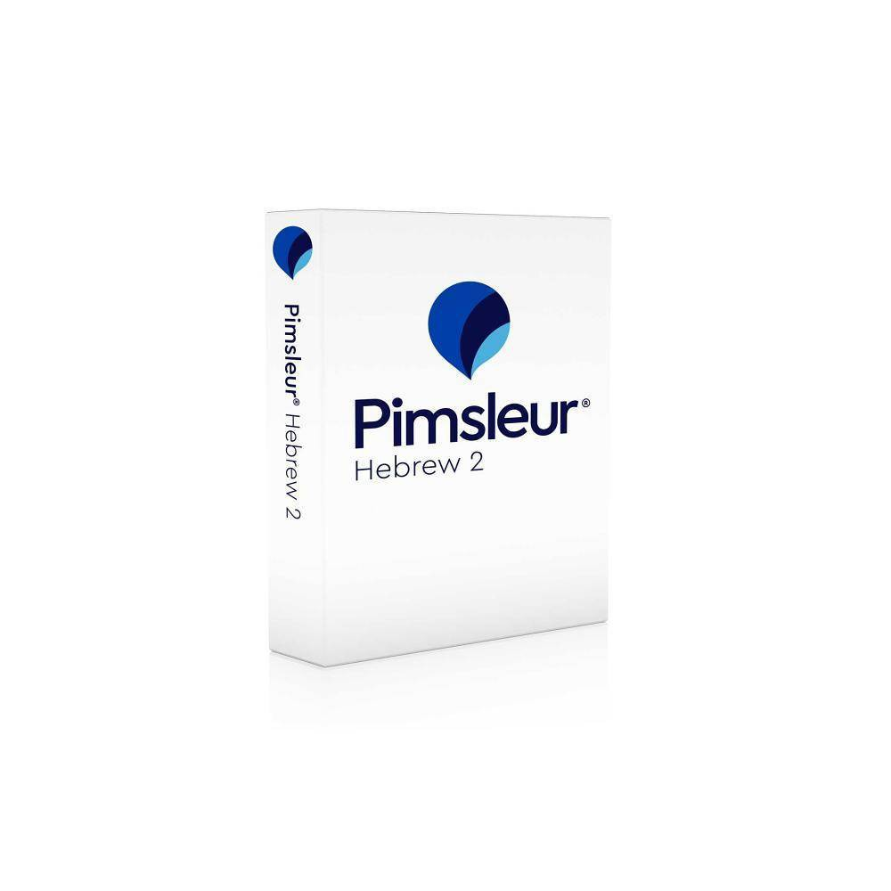 Pimsleur Hebrew Level 2 CD - (Comprehensive)(AudioCD)