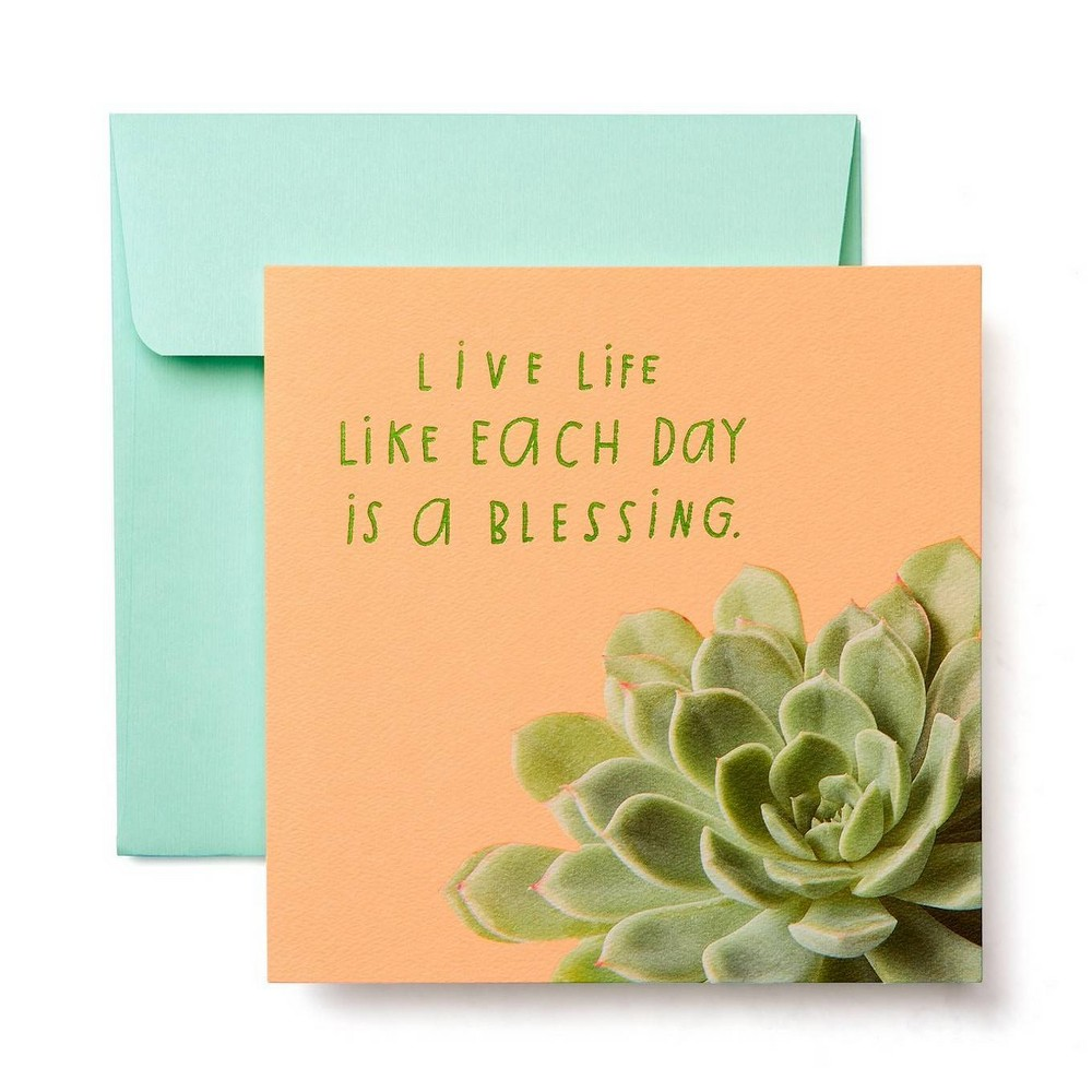 Image of Succulent Greeting Card