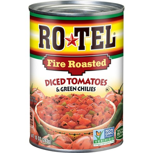 Rotel Fire Roasted Diced Tomatoes
