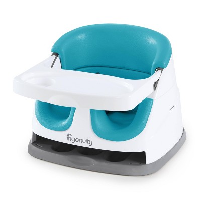 Ingenuity Baby Base 2-in-1 Booster Feeding Seat - Peacock Blue
