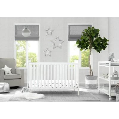 Delta Children Adley 3-in-1 Crib - Bianca White