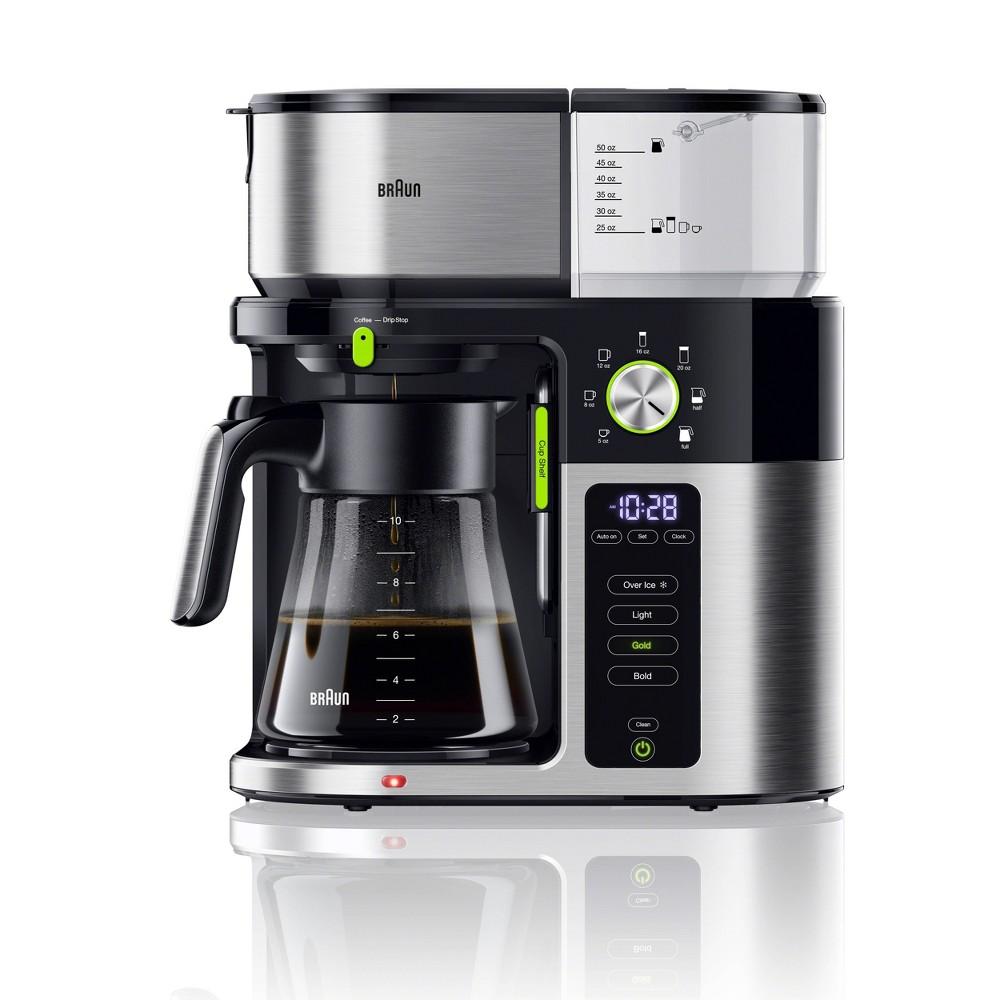 Image of Braun MultiServe Drip Coffee Maker - KF9050