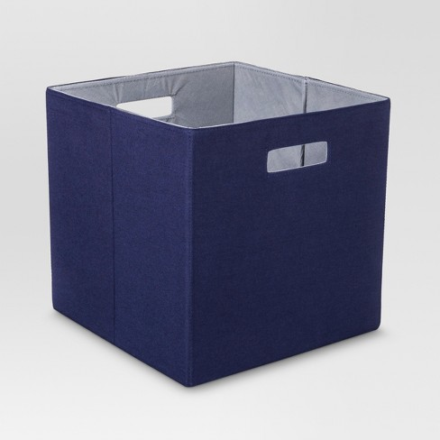 "Fabric Cube Storage Bin (13"") - Threshold™ - image 1 of 2"