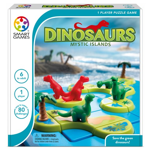 SmartGames Dinosaurs Mystic Islands 8pc - image 1 of 4