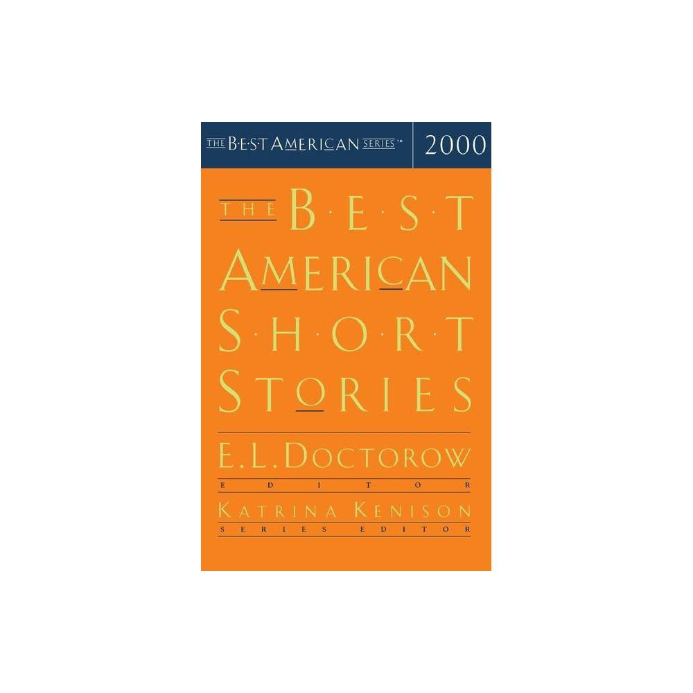 The Best American Short Stories By Katrina Kenison E L Doctorow Paperback
