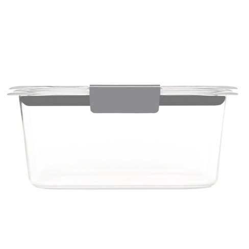 Rubbermaid 4.7 Cup Brilliance Food Storage Container : Target