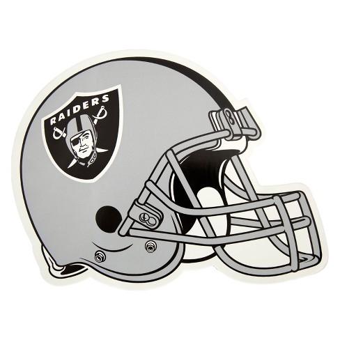 NFL Oakland Raiders Large Outdoor Helmet Decal - image 1 of 1