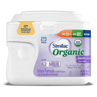Similac Organic A2 Infant Formula Powder - 23.2oz