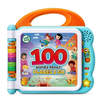 LeapFrog 100 Words About Places I Go Bilingual Learning Book