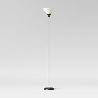 Torchiere Floor Lamp Black - Room Essentials™