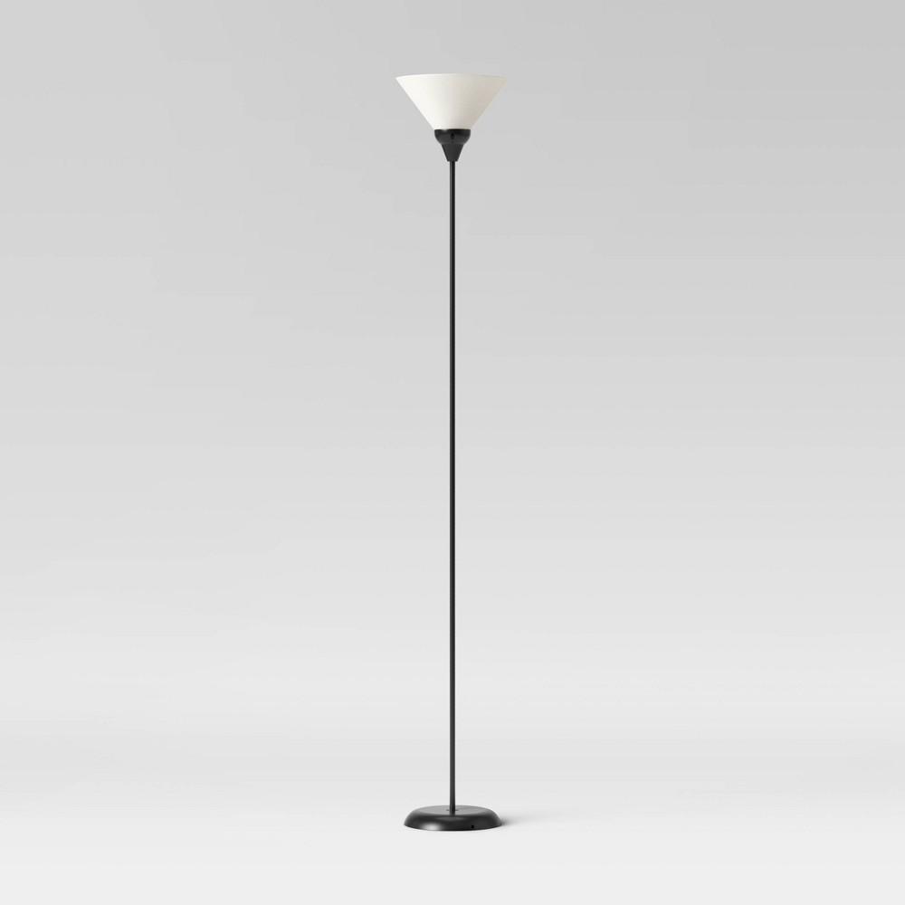 Torchiere Floor Lamp Black Room Essentials 8482