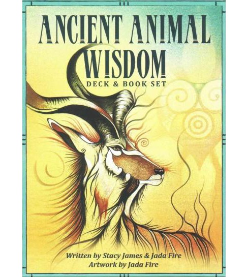 Ancient Animal Wisdom Deck & Book Set (Mixed media product) - image 1 of 1