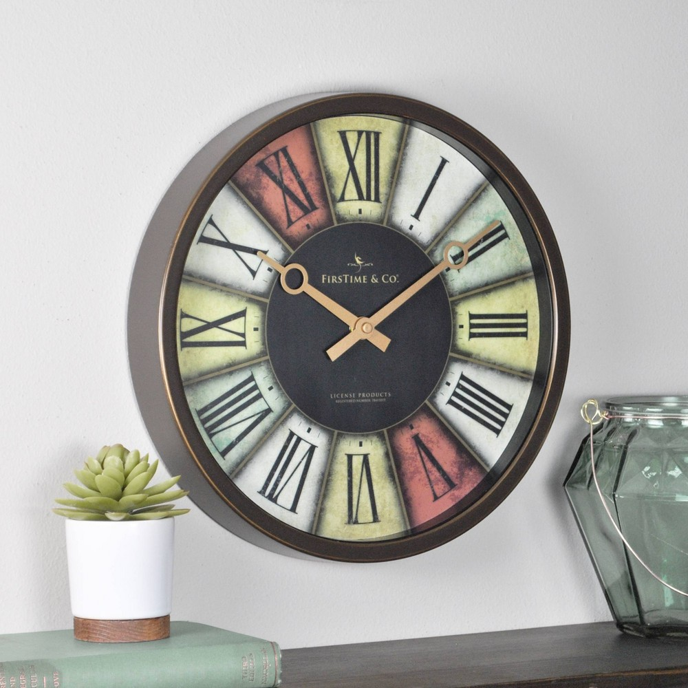 Prismatic Wall Clock Firstime 38 Co