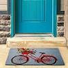 """TAG 1'6"""" x 2'6"""" Bike Rider Coir Doormat Indoor Outdoor All Weather Welcome Mat - image 2 of 4"""