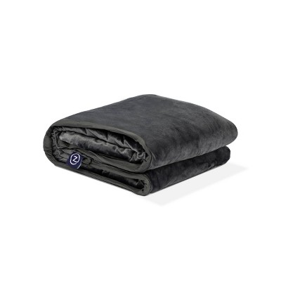 "48"" x 72"" 15lbs Weighted Blanket Gray - Z by Gravity"