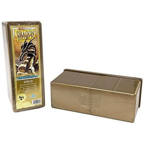 Dragon Shield Four-Compartment Storage Box - Gold Toy - image 1 of 1