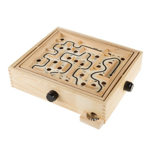 Hey! Play! All Ages Labyrinth Wooden Maze Game - image 1 of 6