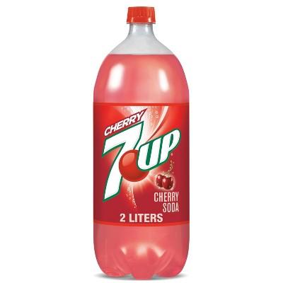 7UP Cherry Soda - 2 L Bottle