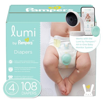 Lumi by Pampers Diapers Enormous Pack - Size 4 - 108ct