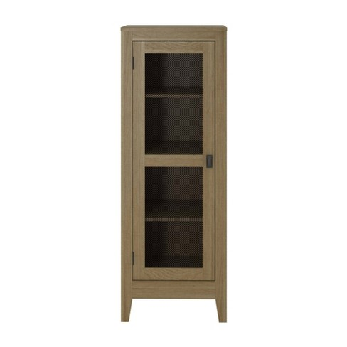 Coulwood Storage Cabinet With Mesh Door - Room & Joy - image 1 of 4