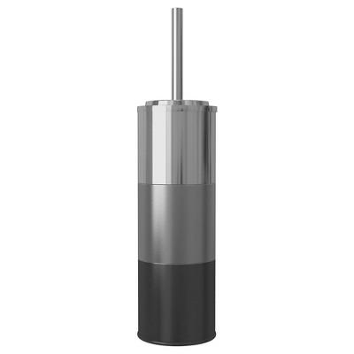 Slim Compact Stainless Steel Toilet Brush Holder - NuSteel
