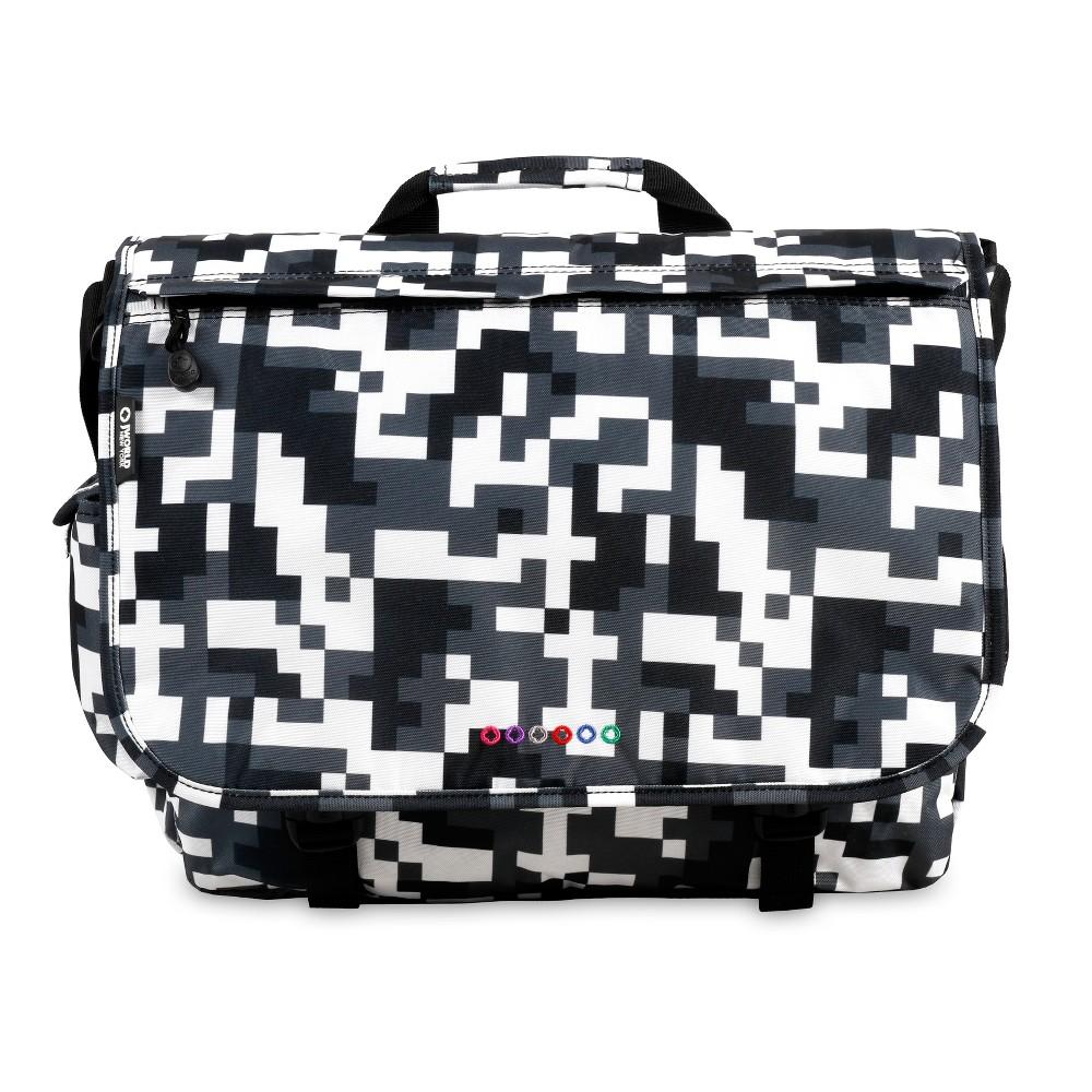J World Thomas Laptop Messenger Bag - Camo, Black