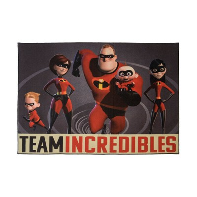 Disney Incredibles 5'x7' Team Rug