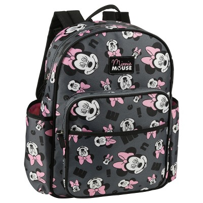 Disney Minnie Mouse Diaper Bag - Gray