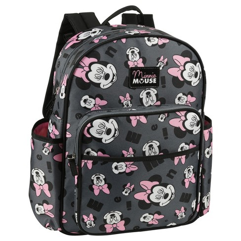 Disney Minnie Mouse Diaper Bag - Gray   Target efa0dc8d02281