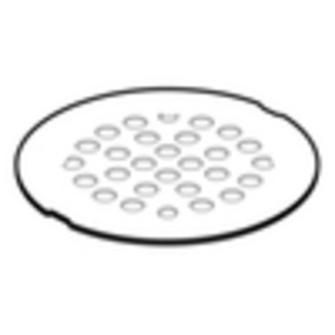 """Moen 102763 4"""" Round Shower Drain Cover with Exposed Screw Installation - image 1 of 1"""