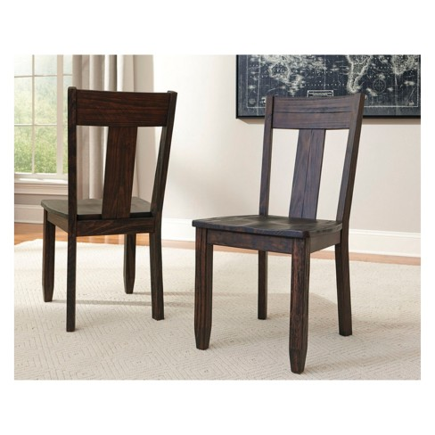 Set Of 2 Trudell Dining Chair Dark Brown Signature Design By Ashley Target
