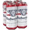 Budweiser Lager Beer - 4pk/16 fl oz Cans - image 3 of 4