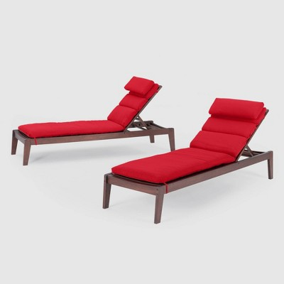 Vaughn Chaise Lounge - RST Brands