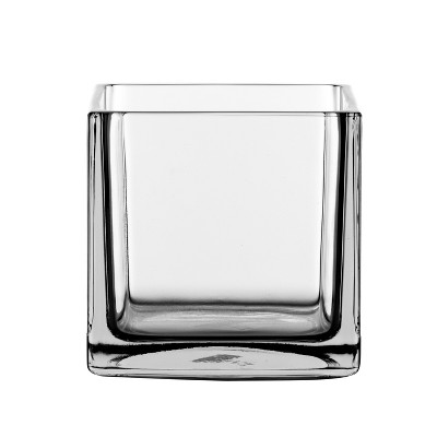 Square Candle Holder - 4 x4  - Libbey