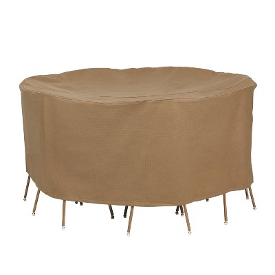 """72"""" Essential Round Table & Chair Cover Set - Duck Covers"""