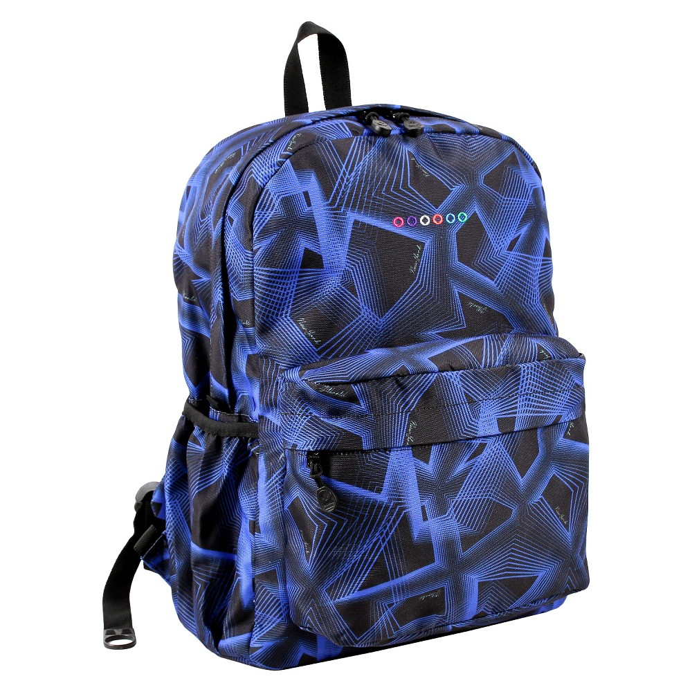 J World Oz Campus Backpack - Disco, Black