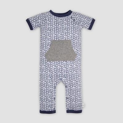 Burt's Bees Baby® Baby Boys' Organic Cotton Coveralls - Indigo 0-3M