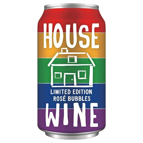 House Wine Rosé Bubbles Wine - 375ml Can - image 1 of 2