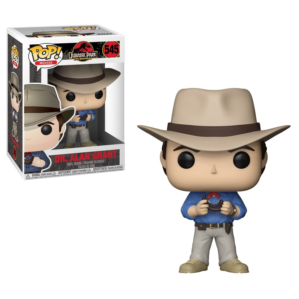 Image of Funko POP! Movies: Jurassic Park 25th Anniversary - Dr. Alan Grant - Minifigure