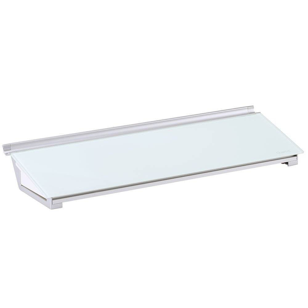 Quartet 18  x 6  Glass Dry-Erase Desktop Computer Pad Frameless - White Quartet 18  x 6  Glass Dry-Erase Desktop Computer Pad Frameless - White